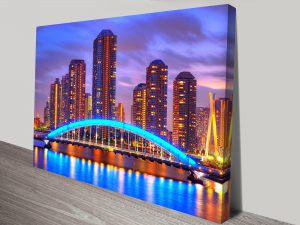 Melbourne-at-Night-Canvas-Prints-Australia